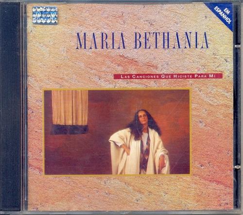 Cd Maria Bethania Las Canciones Que Hiciste Pra Mi Original