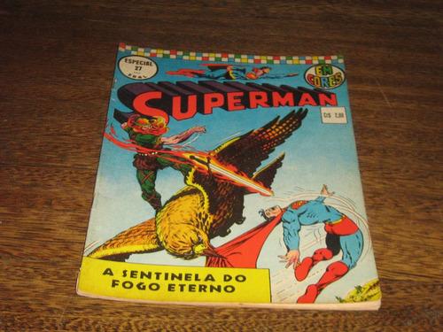 Superman Especial Em Cores Nº 27 Junho/1973 Editora Ebal Original