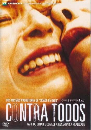 Dvd Contra Todos Silvia Lourenco, Leona Cavali, Giulio Lopes Original