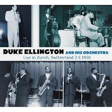 Cd Duke Ellington And His Orchestra Live In Zurich Digipack Original