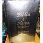 Kit 6 Biblia Sagrada Com Harpa Letra Gigante Preta Promocao