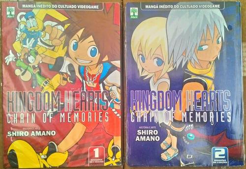 Kingdom Hearts Chain Of Memories - Ms Completa - Abril/mangá Original