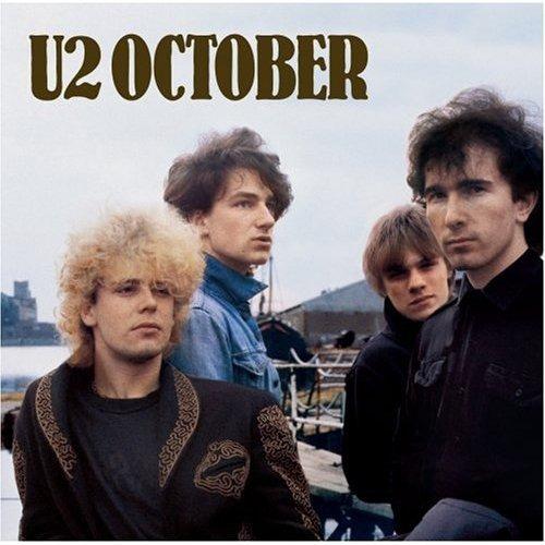 Cd - U2 - October - Nac Original