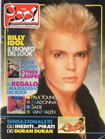 Ciao 1985 Billy Idol Everything But Th Girl Duran Duran King Original