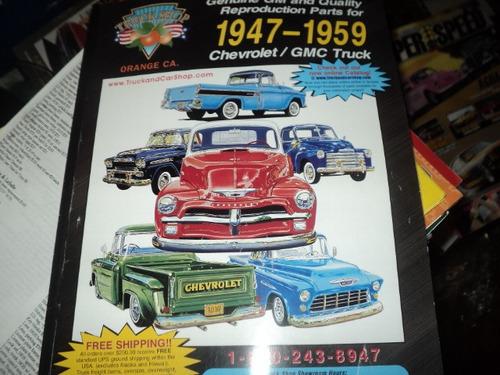 Chevrolet/gm Truck 1947-59 Catalogo De Peças E Acessorios Original