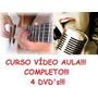 Aulas De Guitarra Canto Completo! 4 Dvds