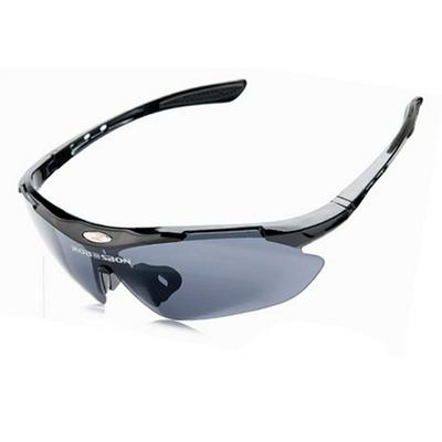 a6820924571ac 1 Saco de Proteção para Transporte do Óculos - 1 Armação de Óculos Esportivo  com Logo da Robesbon - 1 Clip de Encaixe para Lentes de Grau