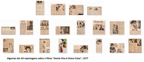 Lote De Reportagens Cinema Nacional Gente Fina É Outra Coisa Original