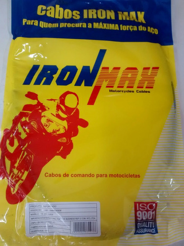 Cabo Embreagem Fazer250 Ironmax Marcio Motos Original