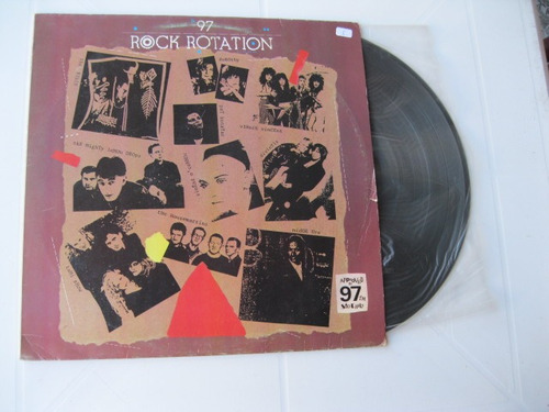 Lp Vinil  -  97 Rock Rotation Original