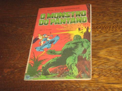 O Monstro Do Pântano Edição Extra  Maio /1982  Editora Ebal Original