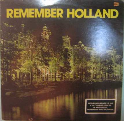The Jaap Valkhoff Orchestra - Remember Holland - Importado Original