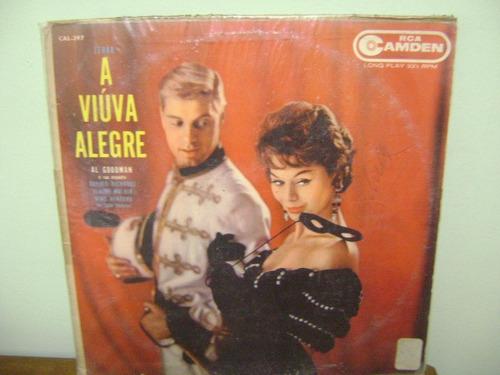 Lp Disco Vinil Antigo A Viúva Alegre Al Goodman E Orquestra Original