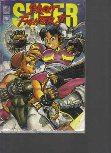 Super Street Fighter 2 - N 9 - Ano 1 - Editora Scala Original