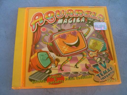 Cd  Aquarela Mágica Vol. 4 - Coleção Infantil - B77 Original