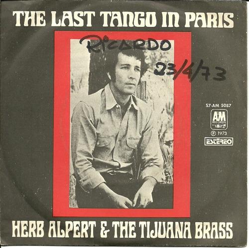Herb Alpert Tijuana Brass Compacto The Last Tango In Paris Original