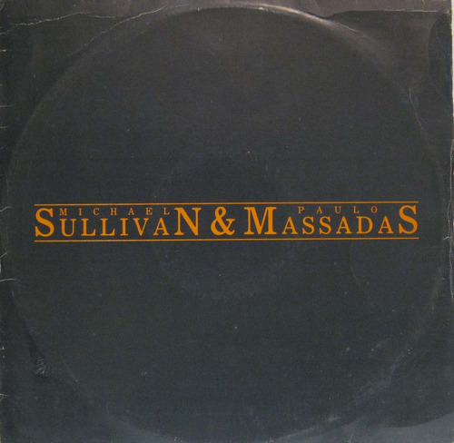 Michael Sullivan E Paulo Massadas - Lp Single Mix Rca 1987 Original