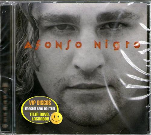 Cd Afonso Nigro Mistério Ex Integrante Dominó - Novo Lacrado Original