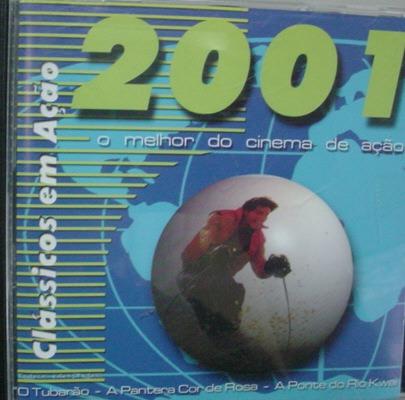 Cd   O Melhor Do Cinema De Ação  2001  -  B47 Original
