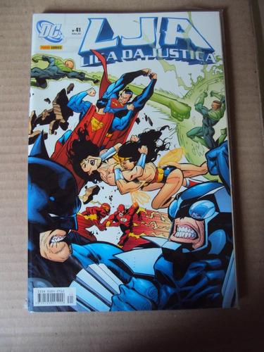 Liga Da Justiça # 41 - Dc Comics - Panini Original