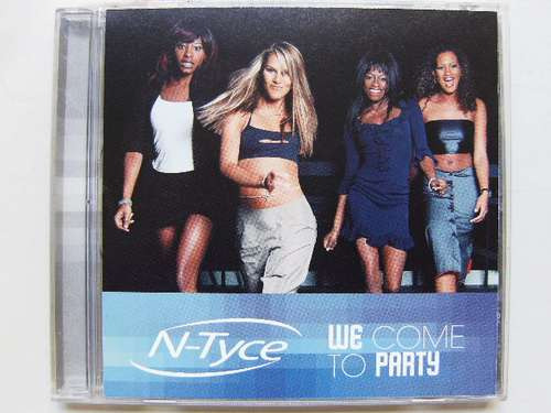 Cd Single N-tyce We Come To Party Importado (spice Girls) Original