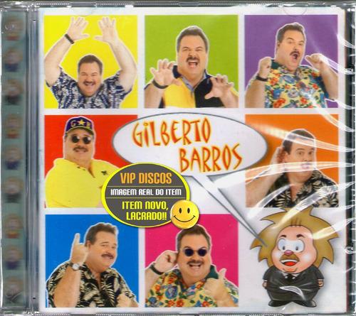 Cd Gilberto Barros Chicauaca Chicabum - Novo Lacrado Raro! Original
