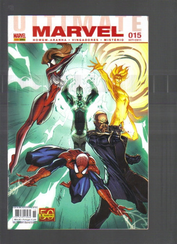 Marvel Nº 015 - Set/2011 - Marvel - Panini Comics Original