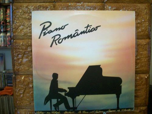 Vinil Lp Agostinho Silva - Piano Romântico Original