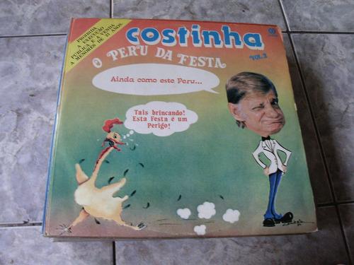 Lp Costinha O Perú Da Festa Vol 2 Original
