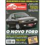 Quatro Rodas Nº399 Ford Verona 2.0i Ghia Vw Fusca Frankfurt
