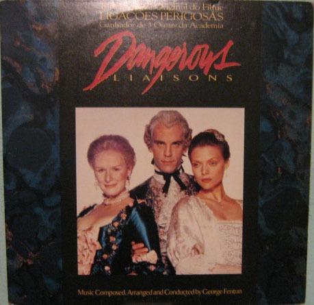 Trilha Sonora Filme Ligações Perigosas - 1989 Original