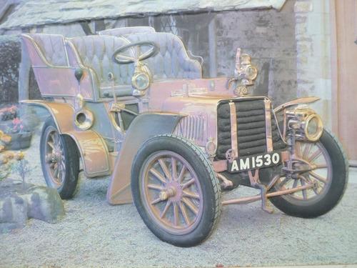 Quadro Carro Em Relevo Importado Original