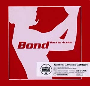 Cd  James Bond Back In Action  -  Importado   - B116 Original