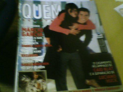 Revista Quem Nº44 Jul2001 Márcio Garcia Original
