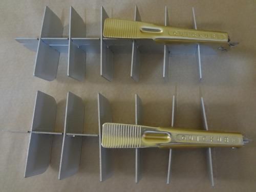 Separador De Gelo Em Aluminio Quickube Original