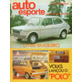 Auto Esporte Nº126 Abril/1975 Vw 1300l Galaxie Caltabiano