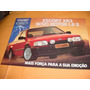 Folder Raro Ford Escort Xr 3 89 1.8 89 1989