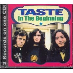 Taste - In The Beginning - Cd Lacrado  Original