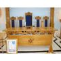 Altar Do Venerável Mestre Para Maçônaria Em Madeira