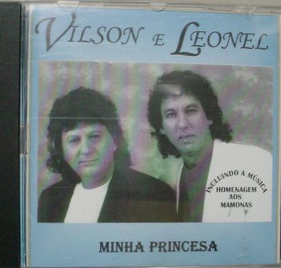 Cd  Vilson  E  Leonel  -  Minha Princesa Original
