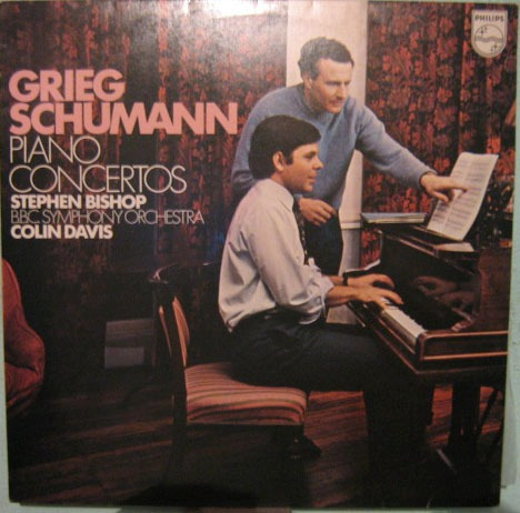 Stephen Bishop/colin Davis - Piano Concertos Grieg/schumann Original