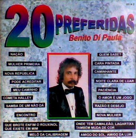 Cd / Benito Di Paula = 20 Preferidas Original