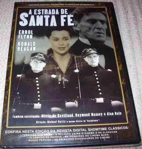 Dvd - A Estrada De Santa Fé (errol Flynn/ Ronald Reagan) Original