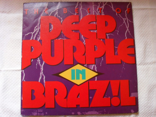 Lp-deep Purple In Brazil The Best Of Ótimo Estado Original