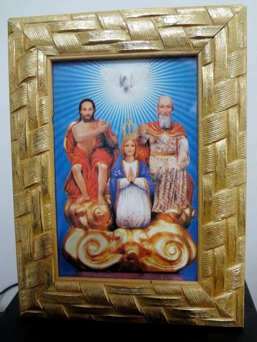 Quadro Religioso S.s. Trindade Original