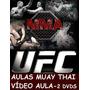 Oferta! Aulas Muay Thai 2 Dvds! Pague Com Mercado Pago