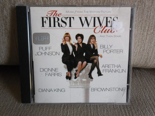 Cd The First Wives Club - Music From The Motion Picture Original