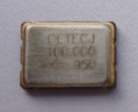 Novo Cristal Oscilador 100.000 Mhz Para Glitcher Corona Original