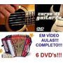 Aulas De Acordeon Guitarra Violão Em 6 Dvds