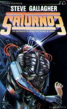Livro - Saturno 3 - Steve Gallagher - Europa-américa Original
